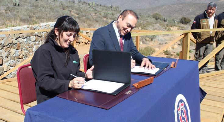 firma convenio cooperacion universidad conaf