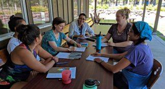 Provechosa participación de miembros del Equipo de Educación Ambiental de Katalapi en el Instituto de Liderazgo en California