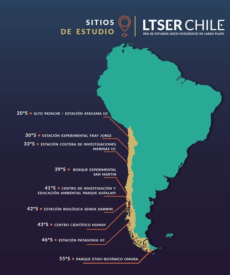 mapa sitios ltser
