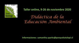 Taller de Didáctica de la Educación Ambiental online
