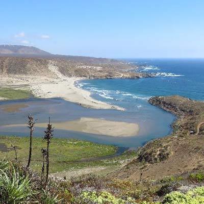 desembocadura del rio limari