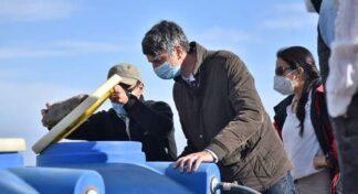 Ministro de Ciencias, Andrés Couve, visitó la Estación Atacama UC